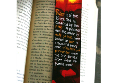 Bookmarks @ Rs. 20 each